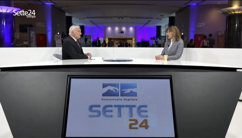 """On. Francesca Donato – Intervista per SETTE 24 EUROPA """"Come mai al Sud arriva solo il 2,6 per cento dei fondi?"""""""