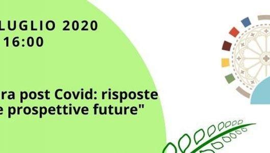 """Webinar """"Agricoltura post Covid: risposte dell' UE e prospettive future"""""""